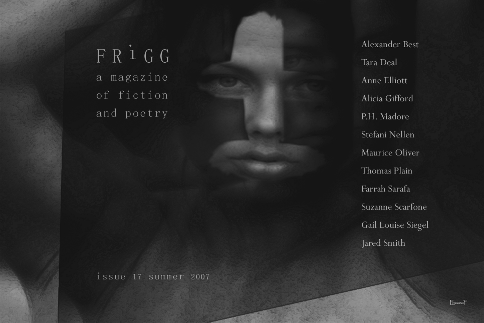 Frigg A Magazine Of Fiction And Poetry Index Of Authors