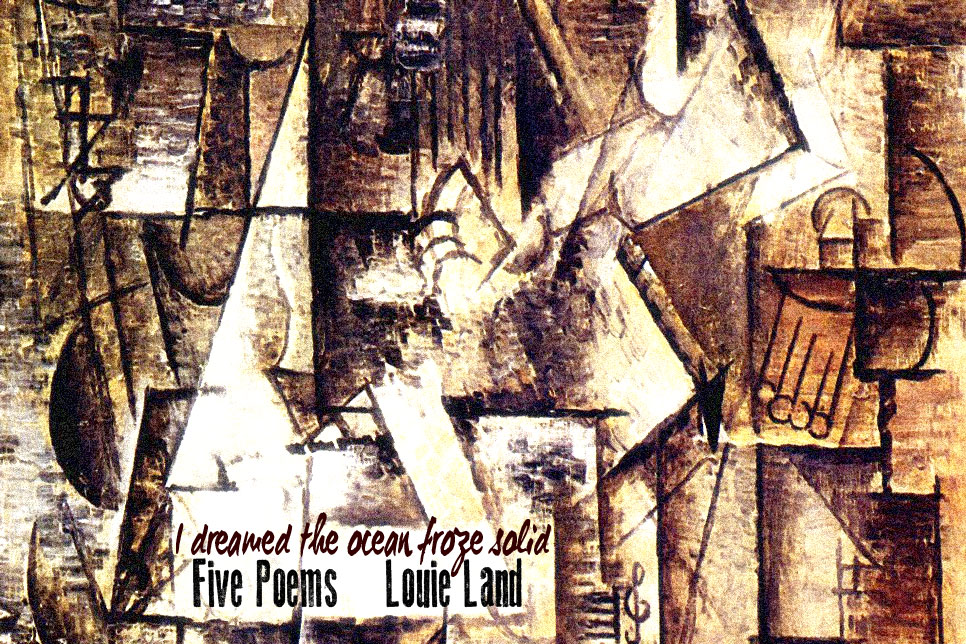 Artwork for Louie Land's poetry