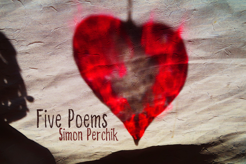 Artwork for Simon Perchik's poems