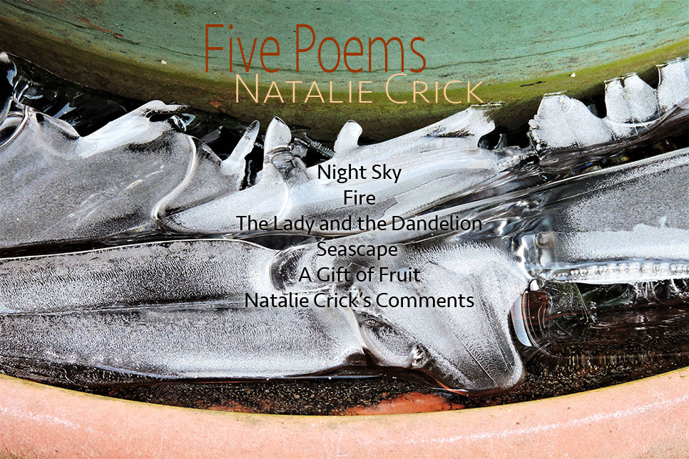 Artwork for Natalie Crick's poems
