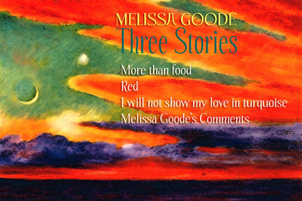 Artwork for Melissa Goode's stories